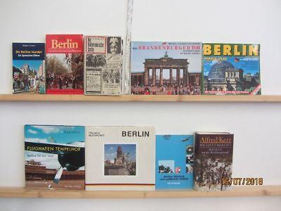51 Bücher Bildbände Berlin berliner Geschichte Reiseführer Anekdoten