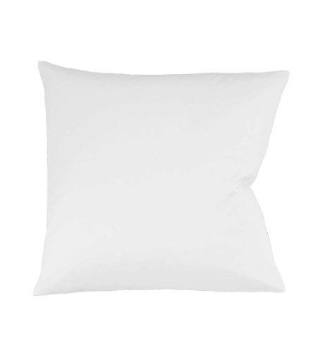 fleuresse Colours Kissenbezug, Mako Satin, weiß, 40 x 40 cm