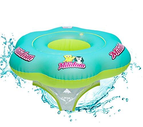 Milidom Baby Schwimmring I Baby Float I Schwimmreifen für Baby Mädchen und Jungen I Baby-Schwimmhilfe ab 6 Monate - 3 Jahre