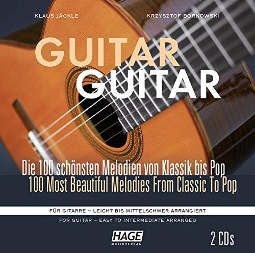 Guitar Guitar CD-Paket (2 CDs): Alle 100 Stücke aus Guitar Guitar - leicht bis mittelschwer arrangiert