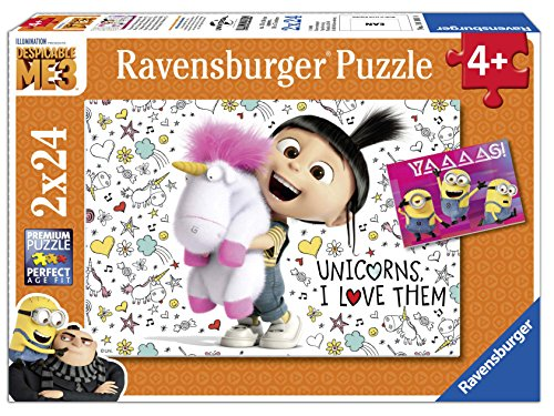 Ravensburger 07811 - Agnes und die Minions Kinderpuzzle