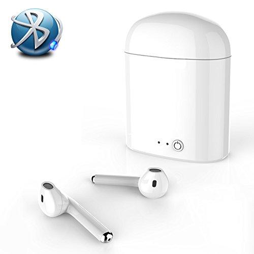 Bluetooth Kopfhörer,Wireless-Headset Sport-Headset mit Lade-Kit Smart Kopfh rer Wireless Kopfh rer Sport Kopfh rer für iPhone X/8/7/6/6s Rauschunterdrückung und Lade und Samsung Galaxy S8,S8 Plus