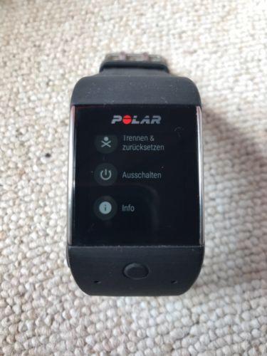 Polar M600 Smartwatch, gebraucht, in sehr gutem Zustand