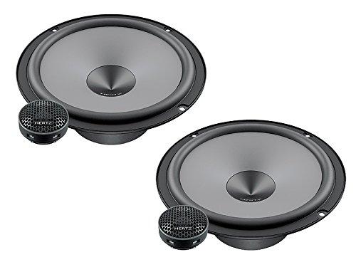 Hertz Lautsprecher 600W 16,5cm K165 Kompo incl Einbauset für Peugeot 308 alle
