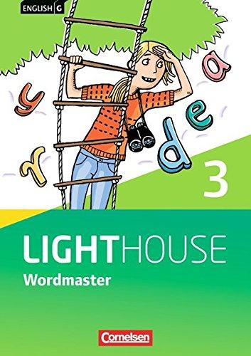 English G Lighthouse - Allgemeine Ausgabe: Band 3: 7. Schuljahr - Wordmaster mit Lösungen: Vokabellernbuch