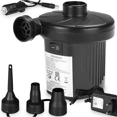 Monzana® 2 in 1 Elektropumpe Elektrische Luftpumpe 12 / 230 V Gebläsepumpe