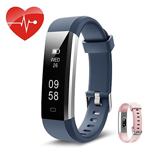 Fitness tracker,herzfrequenz Kingsky Fitness armband