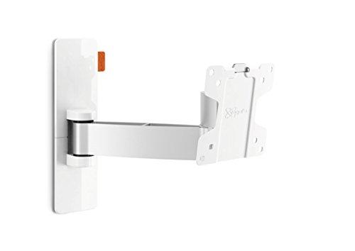 Vogel's Wall 2025 TV-Wandhalterung für 43-66 cm (17-26 Zoll) Fernseher, 120° schwenkbar und neigbar, Max. 15 kg, Vesa Max. 100 x 100 mm, Weiß