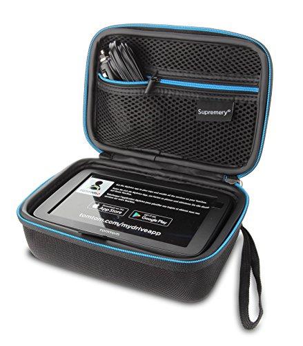 Supremery Tasche für TomTom Go Basic Pkw-Navi Navigationsgerät Hülle Case (geeignet für 6,0 Zoll Gerät - kompatibel mit:GO 610 620 6200 61100, Start 60 62, Via 62, GO 60 61, GO 600/GO 6000/TRUCKER 6000)