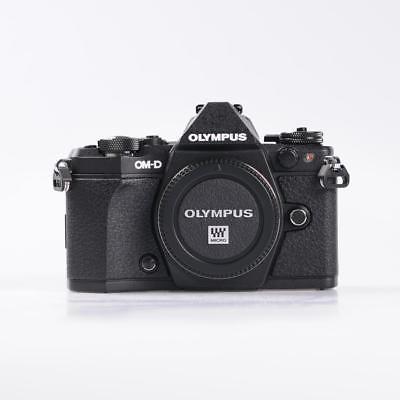 Olympus OM-D E-M5 Mark II Systemkamera Gehäuse - Schwarz