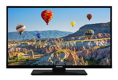 Techwood H32T11A 32 Zoll Fernseher 81cm HD TV DVB-C/-T2/-S2 HDMI USB CI+ schwarz