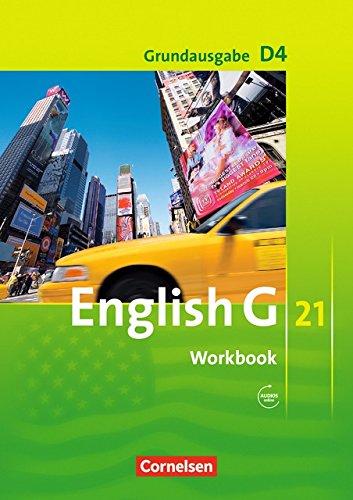 English G 21 - Grundausgabe D / Band 4: 8. Schuljahr - Workbook mit Audios online