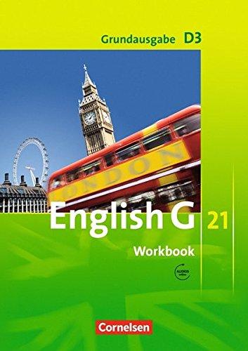 English G 21 - Grundausgabe D / Band 3: 7. Schuljahr - Workbook mit Audio-Materialien