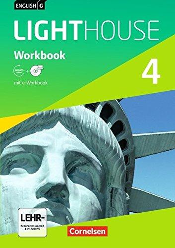 English G Lighthouse - Allgemeine Ausgabe / Band 4: 8. Schuljahr - Workbook mit Audio-Materialien