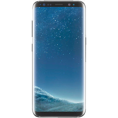 SAMSUNG Galaxy S8, Smartphone, 64 GB, 5.8 Zoll, Midnight Black