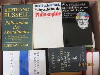 46 Bücher Philosophie Philosophen Kant Nietzsche philosopisches denken