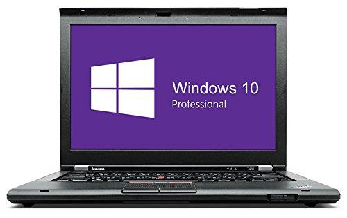 Lenovo Thinkpad T430 Notebook / Laptop | 14 Zoll Display (1366 x 768) | Intel Core i5-3320M @ 2,6 GHz | 8GB DDR3 RAM | 250GB SSD | DVD-Brenner | Windows 10 Pro vorinstalliert (Zertifiziert und Generalüberholt)