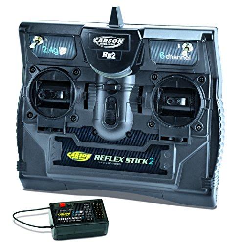 Carson 500501006 - FS Reflex Stick II, 2.4 GHz 6 Kanal