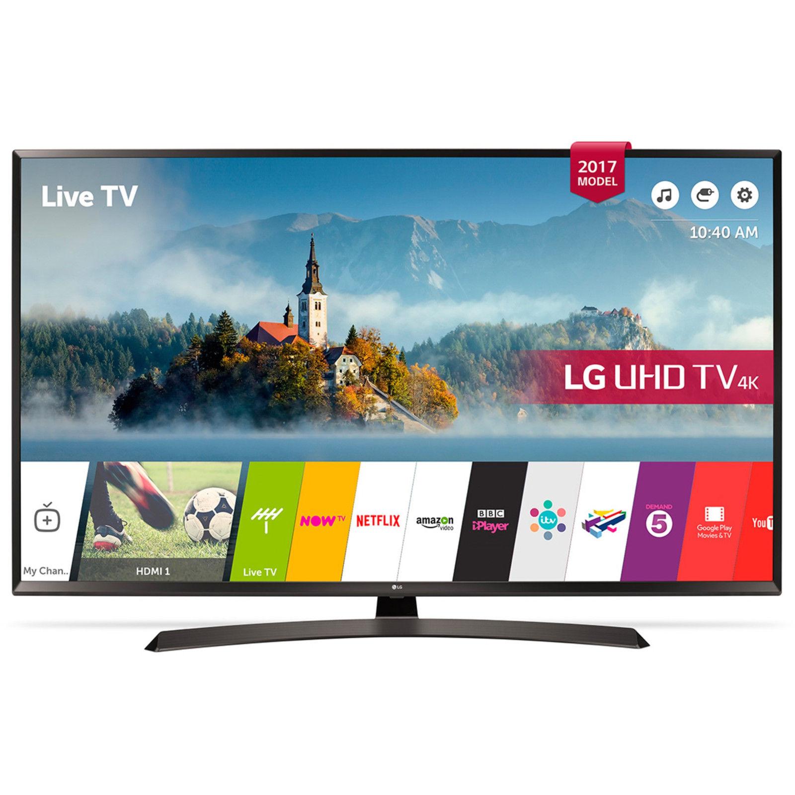 LG 55UJ635V 55 Zoll UHD LED Fernseher Smart TV Wlan Triple Tuner