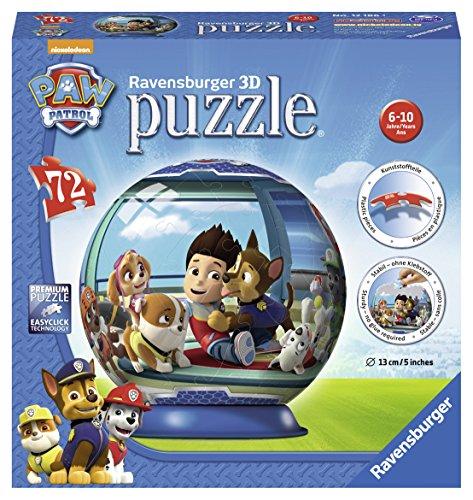 Ravensburger Paw Patrol, 72PC 3D Puzzle®