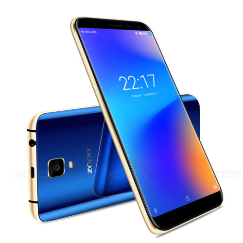 16GB 6,0 Zoll Android 7.0 Smartphone 4 Core Dual SIM Handy Ohne Vertrag HD ZOPO