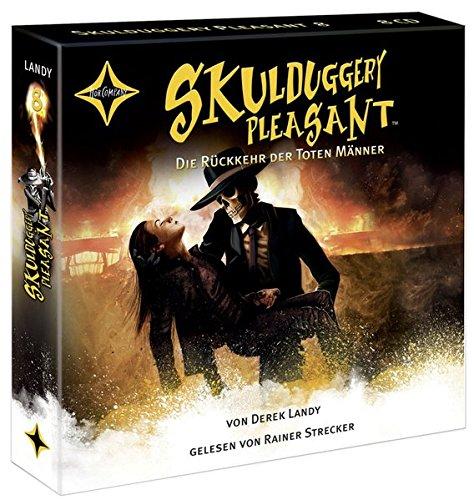 Skulduggery Pleasant - Folge 8: Die Rückkehr der toten Männer. Gelesen von Rainer Strecker, 10 CD, Laufzeit ca. 14 Std.