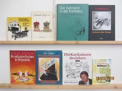 52 Bücher Karikatur Cartoon politische Karikaturen Cartoons