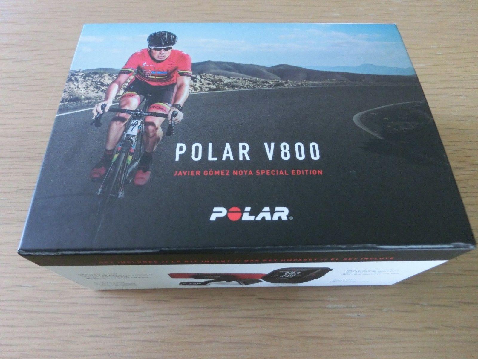 Polar V 800 - Fitness-Uhr - Multisport-Uhr - Tracker - GPS Sportuhr -  TOP !!!
