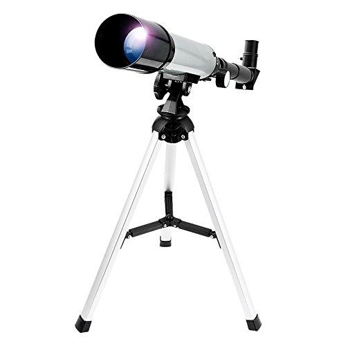 Teleskop Tragbares Astronomisches Zoom HD Draussen Monokular Platz Astronomischen Teleskop mit Tripod Terrestrial Telescope für Kinder, Anfänger - Uverbon
