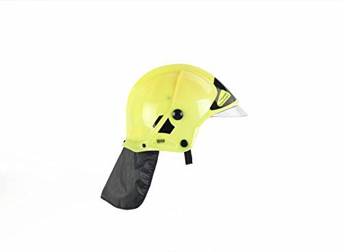 Theo Klein 8903 Feuerwehrhelm mit Visier, Spiel, Neon