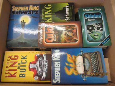 Stephen King 50 Bücher Horrorromane Gruselromane Fantasyromane