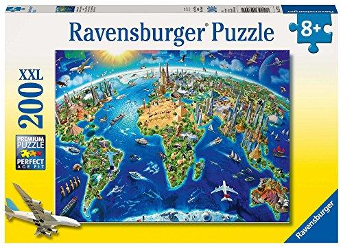Ravensburger 12722 - Große, weite Welt – 200 Teile Puzzle