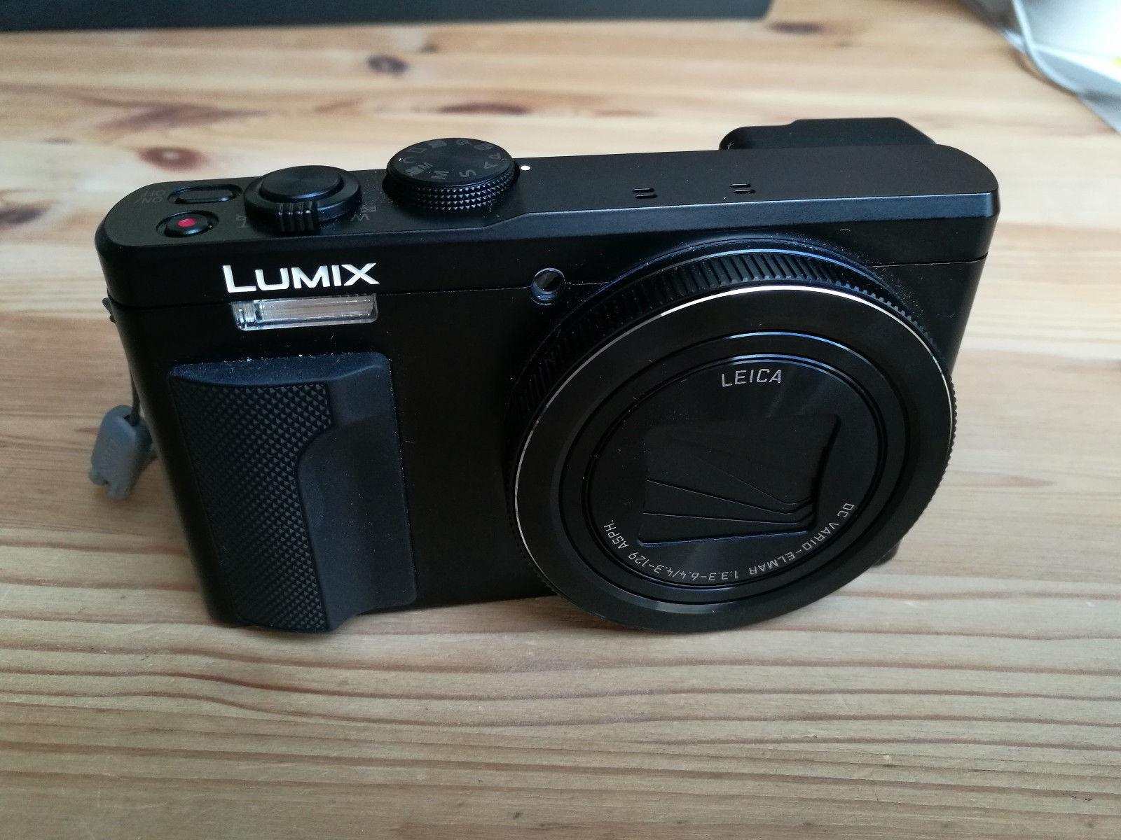 Panasonic Lumix (Dmc-tz81) Digitalkamera Tz81 - Schwarz