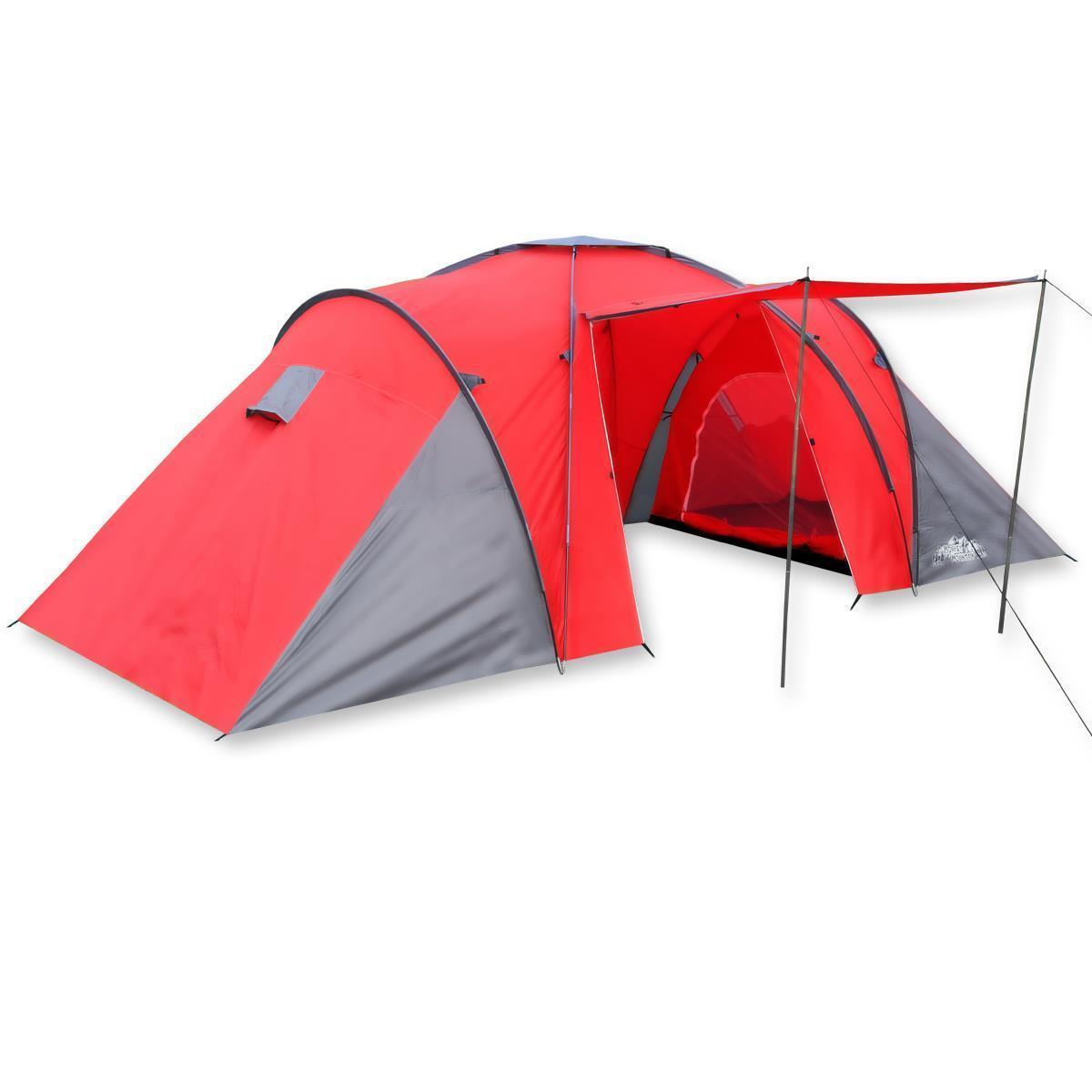 Familienzelt für 6 Personen Monkey Mountain®  Gruppenzelt Camping Outdoor Zelt