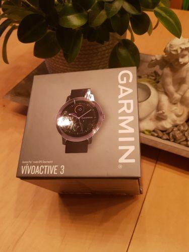 NEU Garmin vivoactive 3 Gunmetal schwarz