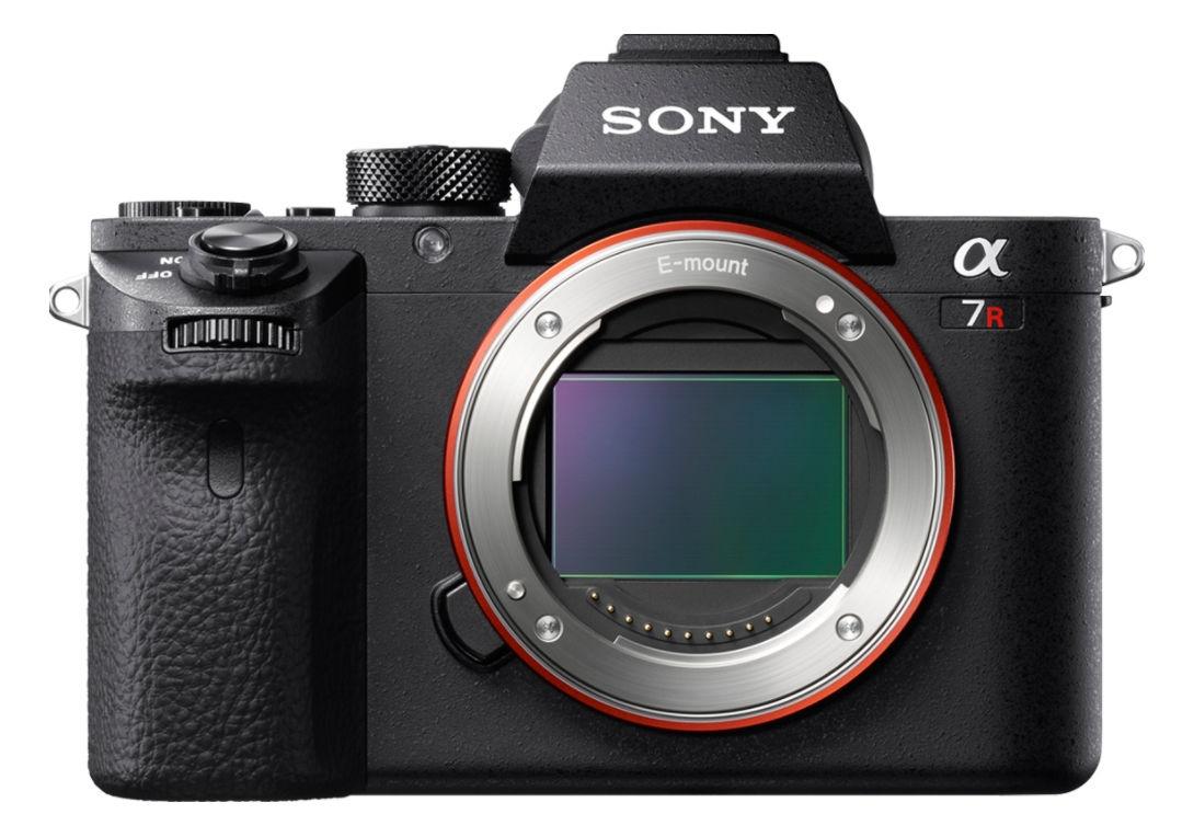 Sony Alpha 7R II Mirrorless Digitalkamera 42 MP Nur Gehäuse, mit Batteriegriff