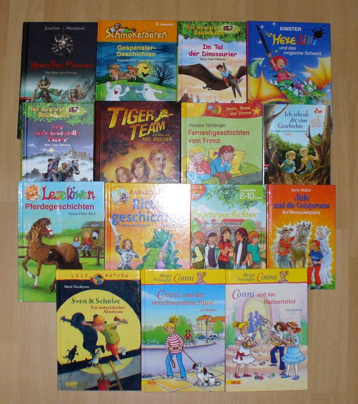 Kinderbücher ~ schöne Sammlung / Paket für Junde Leser ~ einzeln gelistet