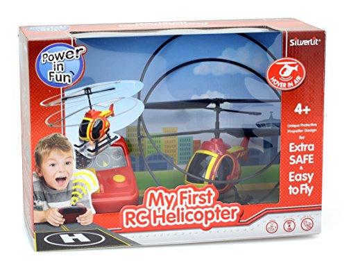 Silverlit 84603 84703–Mein Erster Hubschrauber Rot