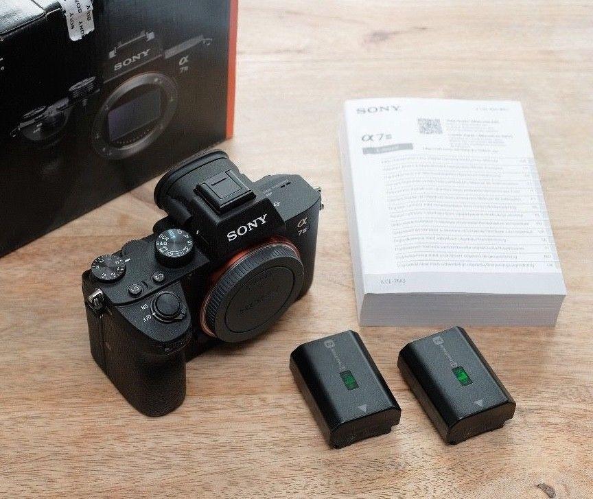 Sony alpha A7 III + Sony Zusatzakku, lange Restgarantie, Zubehörpaket