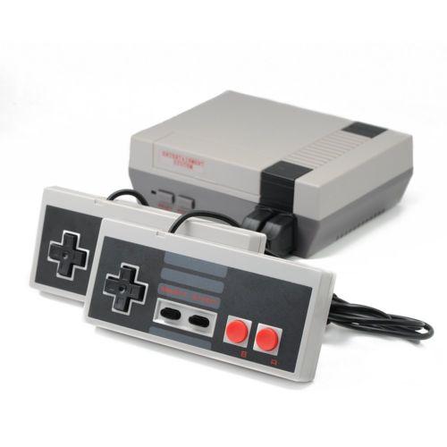 500 in 1 Spielen Classic Mini Konsole für NES Retro mit Gamepads Grey