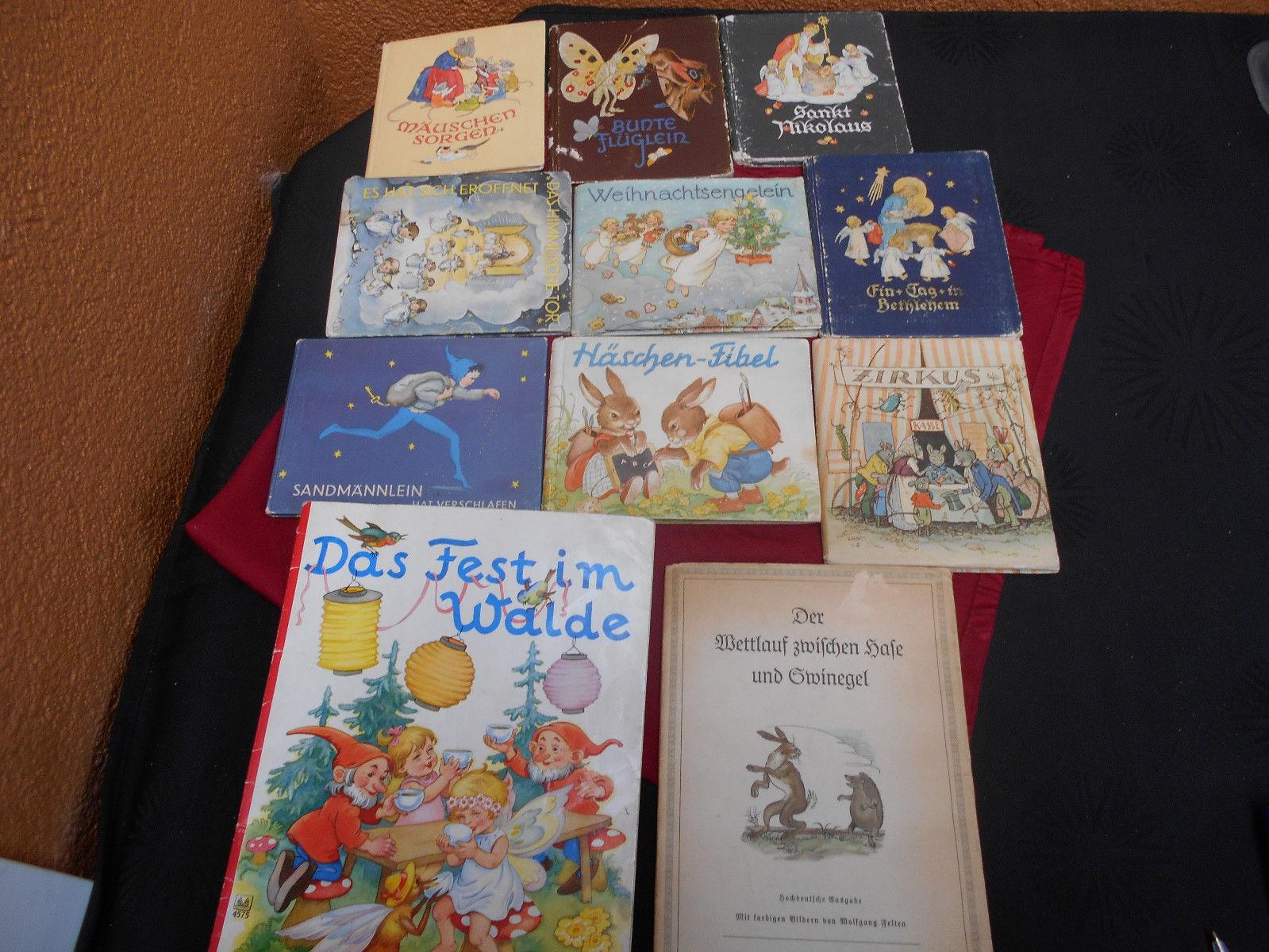 KONVOLUT.  11 alte Kinderbücher mit tollen Geschichten und Bilder