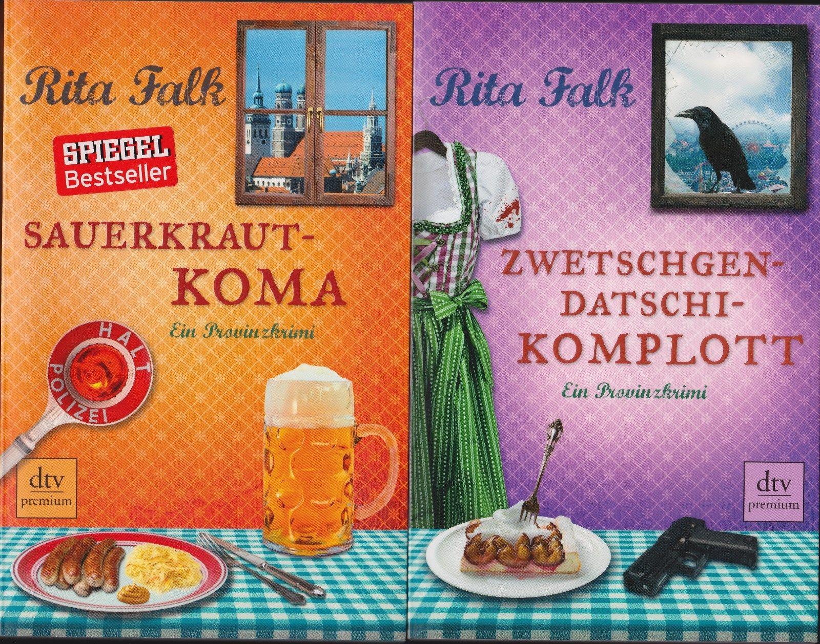 Sauerkrautkoma und Zwetschgendatschikomplott von Rita Falk