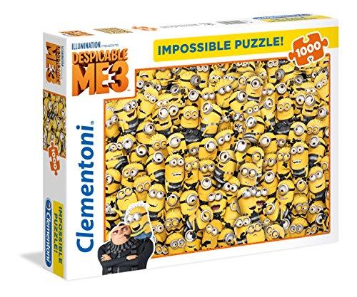 Clementoni 39408–Puzzle Impossible Minions