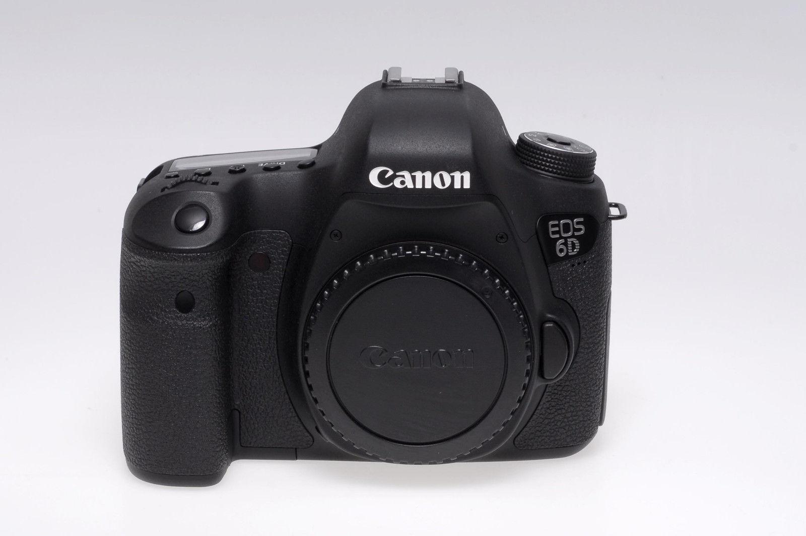 Canon EOS 6D 20,2 MP SLR-Digitalkamera - Schwarz (Nur Gehäuse) - gebraucht
