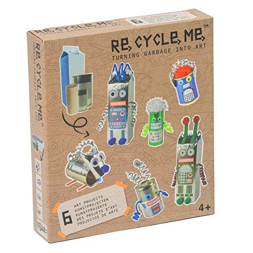 Re Cycle Me DEFG1110 - Bastelspaß Robotor Themenwelt für 6 Modelle