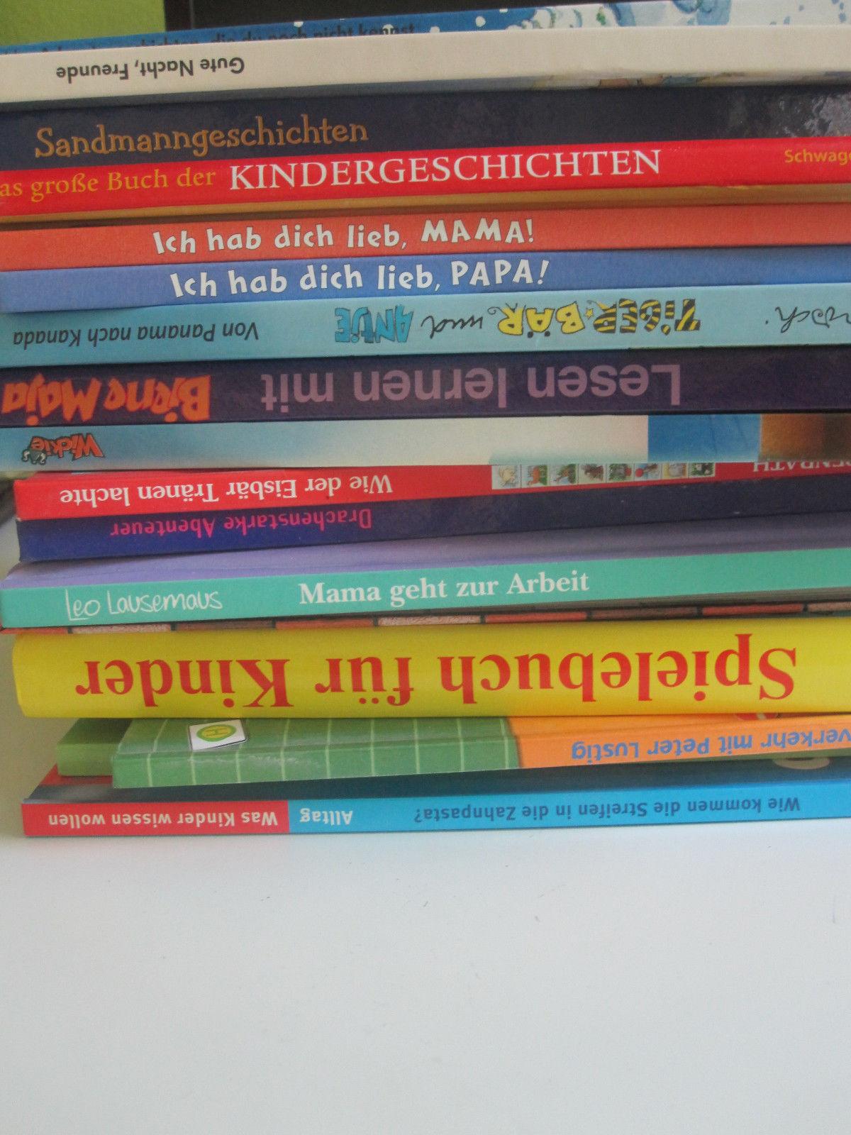 Kinderbücher Sammlung 17 Bücher