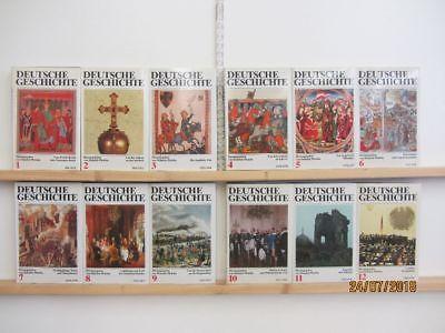 Deutsche Geschichte in 12 Bänden Herausgegeben von Heinrich Pleticha