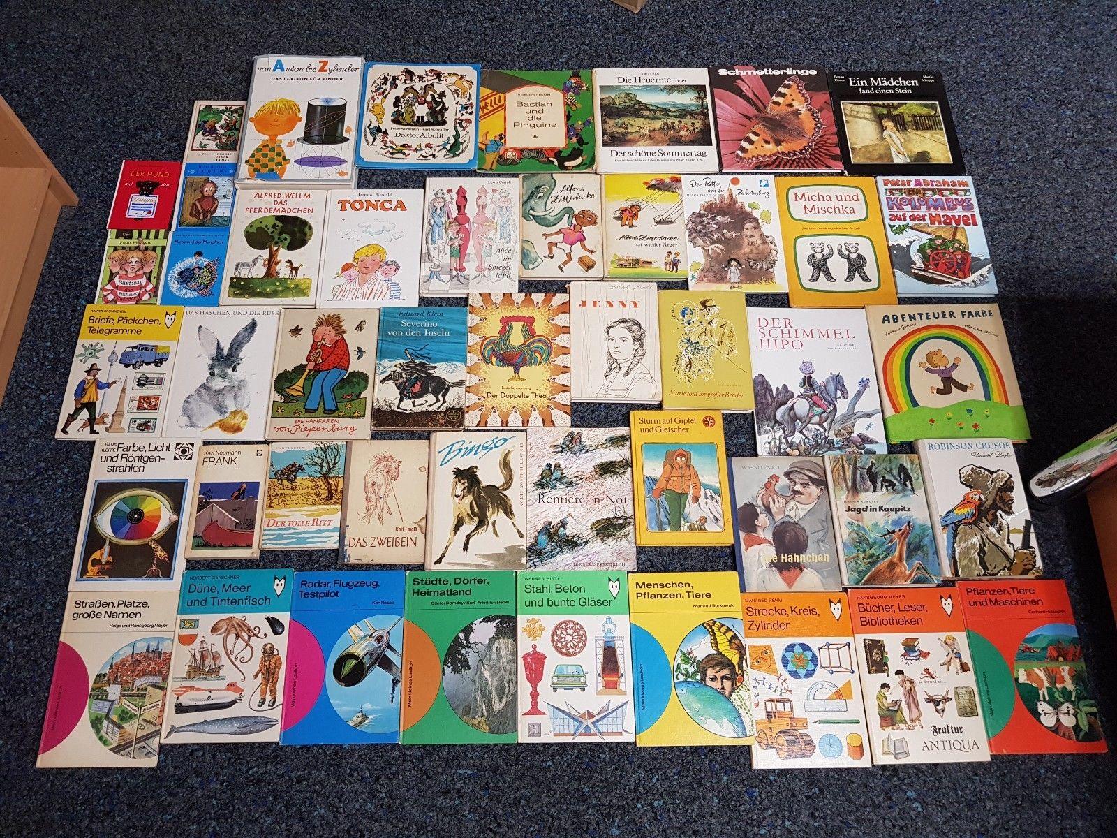 47 Stück alte Kinderbücher Jugendbücher aus DDR-Zeiten