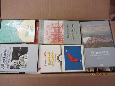 77 Bücher dünne gebundene Bücher Romane Sachbücher Erzählungen Novellen u.a.