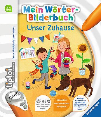 Tiptoi Mein Wörter Bilderbuch Unser Zuhause Ab 3 Jahren Ravensburger + BONUS
